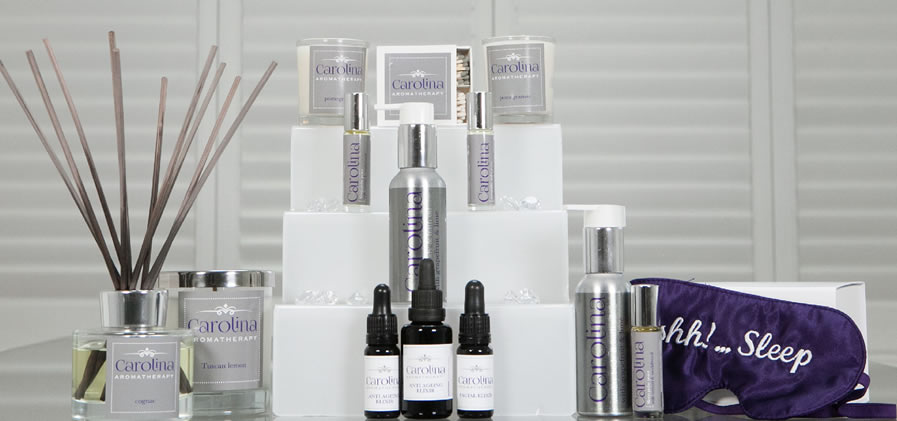 carolina aromatherapy range